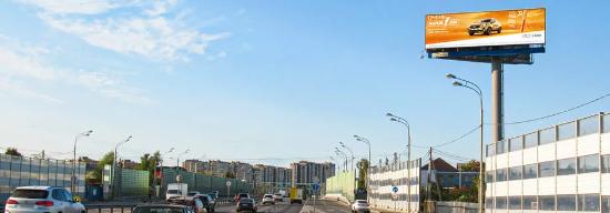 Цифровой digital суперборд 4х12, Дмитровское шоссе